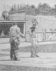 Pencil drawing fine art by John Huisman